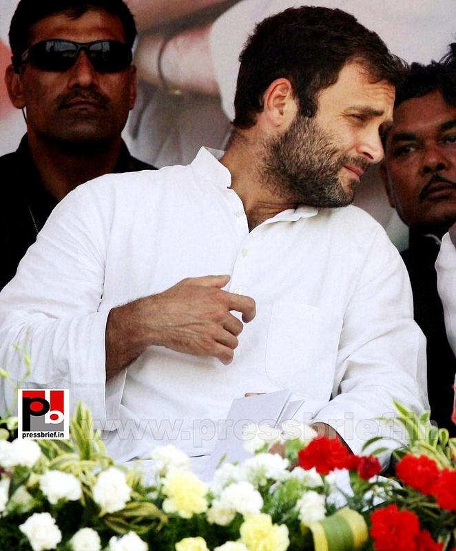 Rahul Gandhi at Thane, Maharashtra (2)