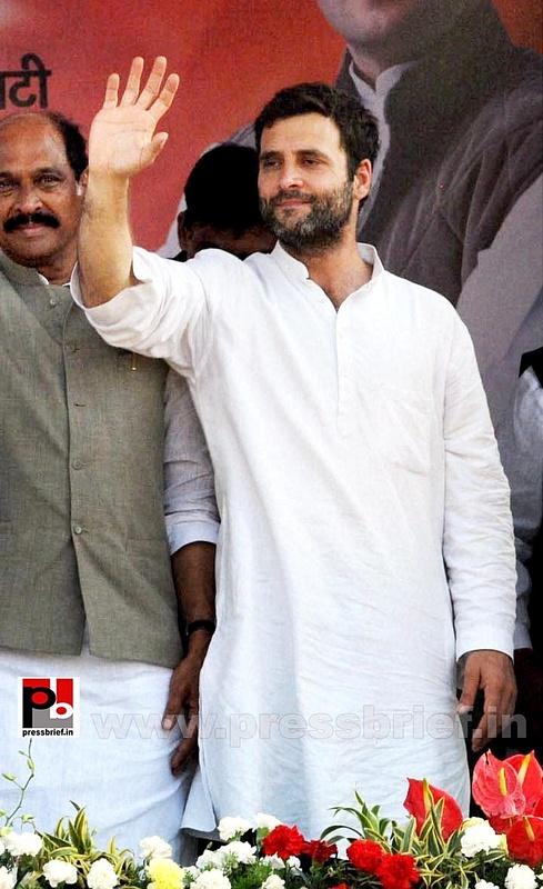 Rahul Gandhi at Thane, Maharashtra (6)