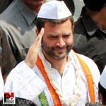 Rahul Gandhi at Thane, Maharashtra