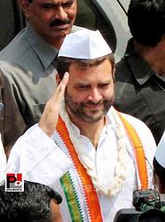 Rahul Gandhi at Thane, Maharashtra