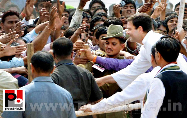 Rahul Gandhi addresses rally at Rajasthan (7) by...