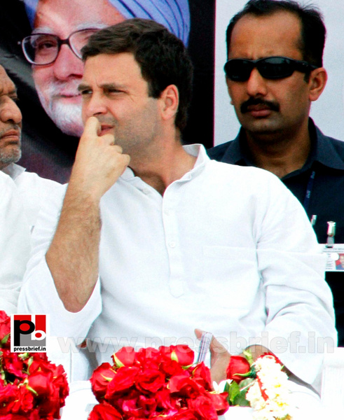 Rahul Gandhi at a Congress rally in Gujarat (2) by...