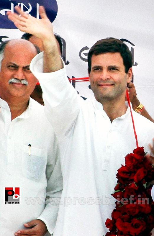 Rahul Gandhi at a Congress rally in Gujarat (4)