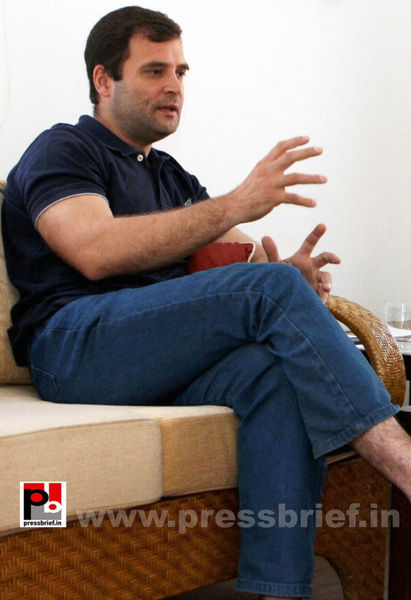 Rahul Gandhi's interview to PTI by Pressbrief In by...