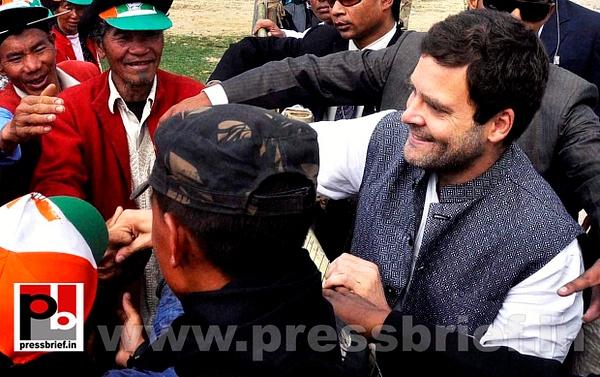 Rahul Gandhi at Arunachal Pradesh (6) by Pressbrief In
