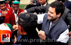 Rahul Gandhi at Arunachal Pradesh