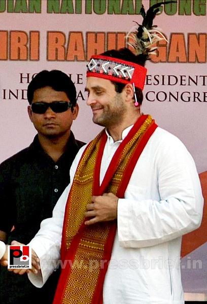 Rahul Gandhi at Meghalaya (2) by Pressbrief In