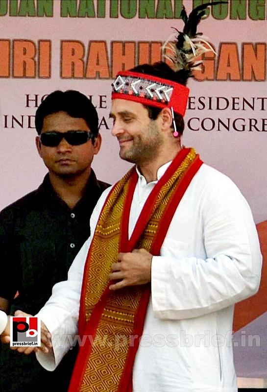 Rahul Gandhi at Meghalaya (2)