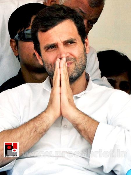 Rahul Gandhi at Manipur (2) by Pressbrief In