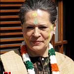 Sonia Gandhi celebrates holi