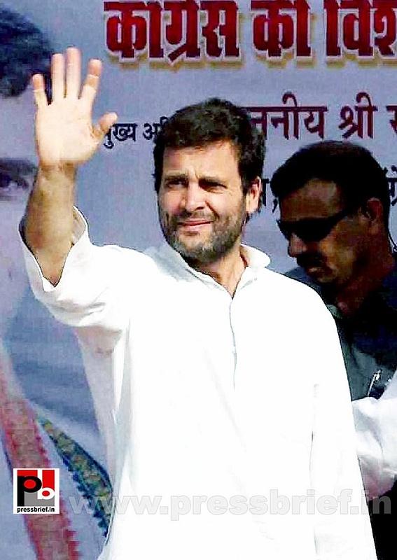 Rahul Gandhi campaigns at Pratapgarh (1)