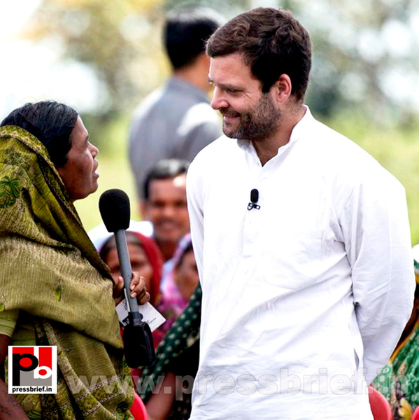 Rahul Gandhi campaigns at Pratapgarh, UP by Pressbrief In