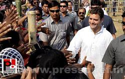 Rahul Gandhi at Jalpaiguri, WB