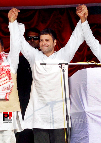 Rahul Gandhi at Sonitpur, Assam (3) by Pressbrief In