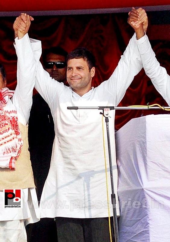 Rahul Gandhi at Sonitpur, Assam (3)