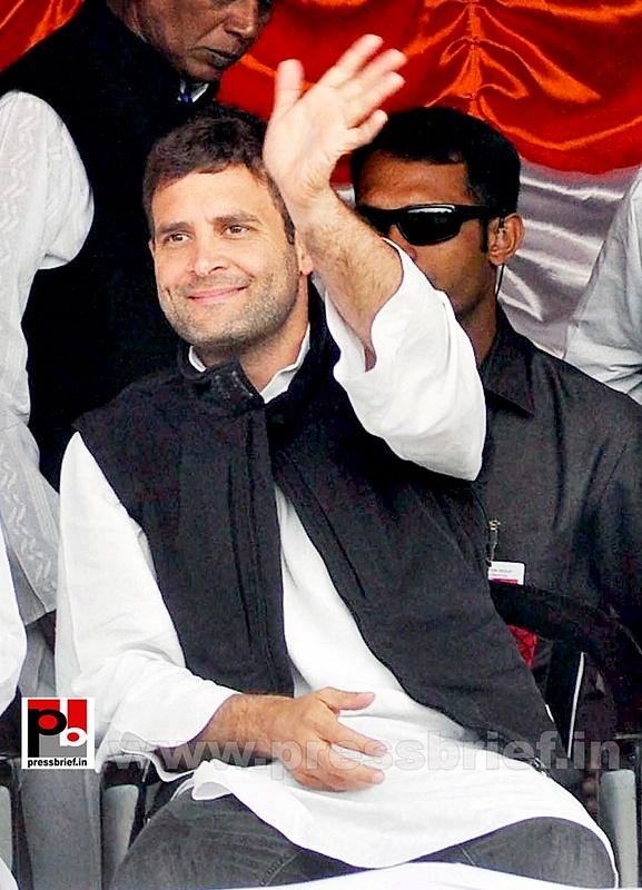 Rahul Gandhi at Sonitpur, Assam (4)