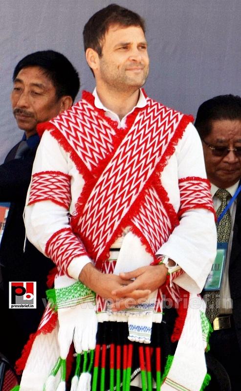Rahul Gandhi at Sonitpur, Assam (6)