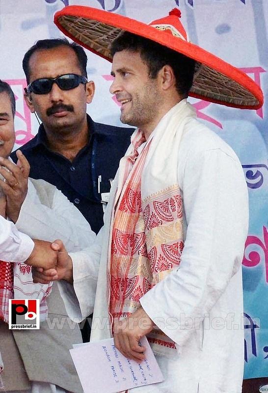 Rahul Gandhi at Sonitpur, Assam (8)