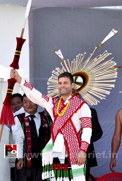 Rahul Gandhi at Sonitpur, Assam by Pressbrief In