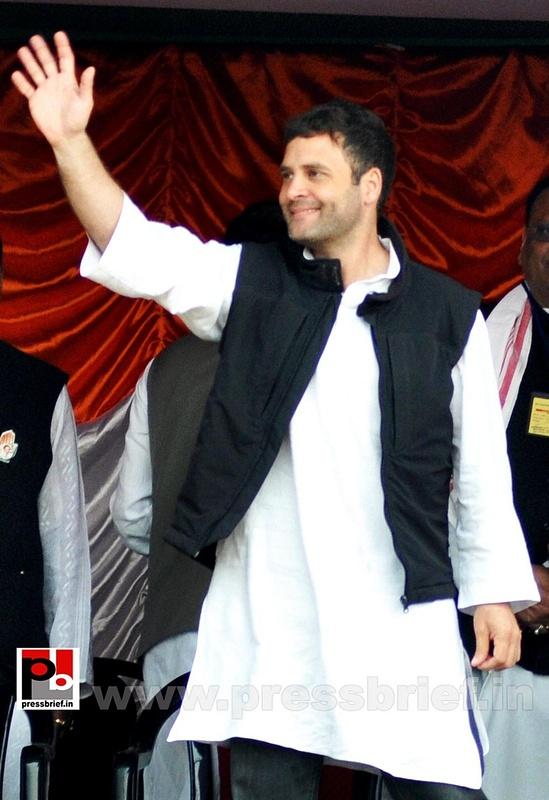 Rahul Gandhi at Sonitpur, Assam (11)