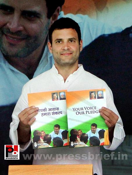 Rahul Gandhi during Congress manifesto release (6) by...