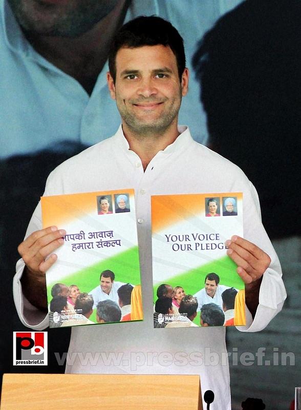 Rahul Gandhi during Congress manifesto release (7)