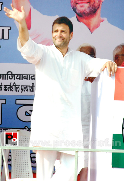 Rahul Gandhi at Ghaziabad, UP (1) by Pressbrief In