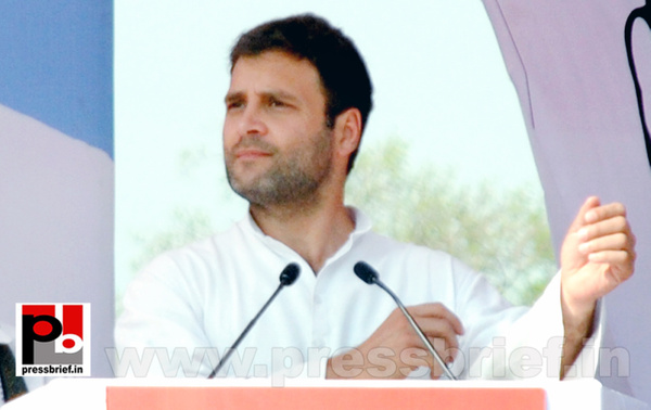 Rahul Gandhi at Ghaziabad, UP (2) by Pressbrief In