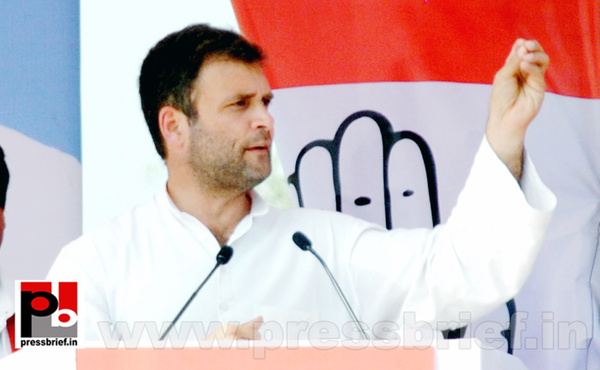 Rahul Gandhi at Ghaziabad, UP (4) by Pressbrief In