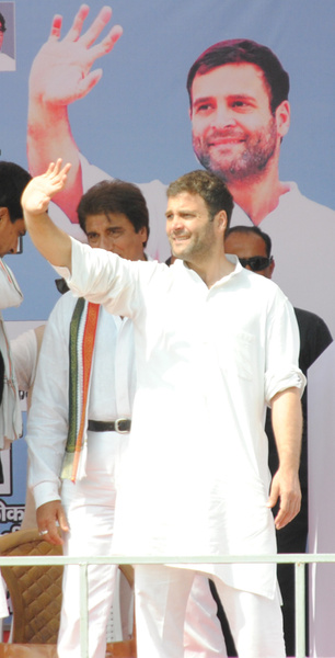 Rahul Gandhi at Ghaziabad, UP (5) by Pressbrief In