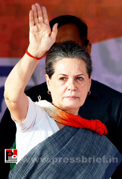 Sonia Gandhi in New Delhi  (1) by Pressbrief In