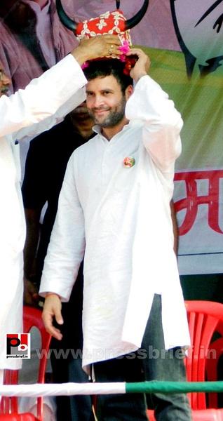 Rahul Gandhi at Koraput (3) by Pressbrief In