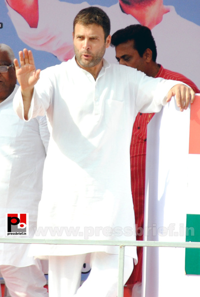Rahul Gandhi at Ghaziabad, UP (13) by Pressbrief In