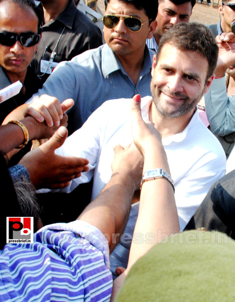 Rahul Gandhi at Ghaziabad, UP (15) by Pressbrief In