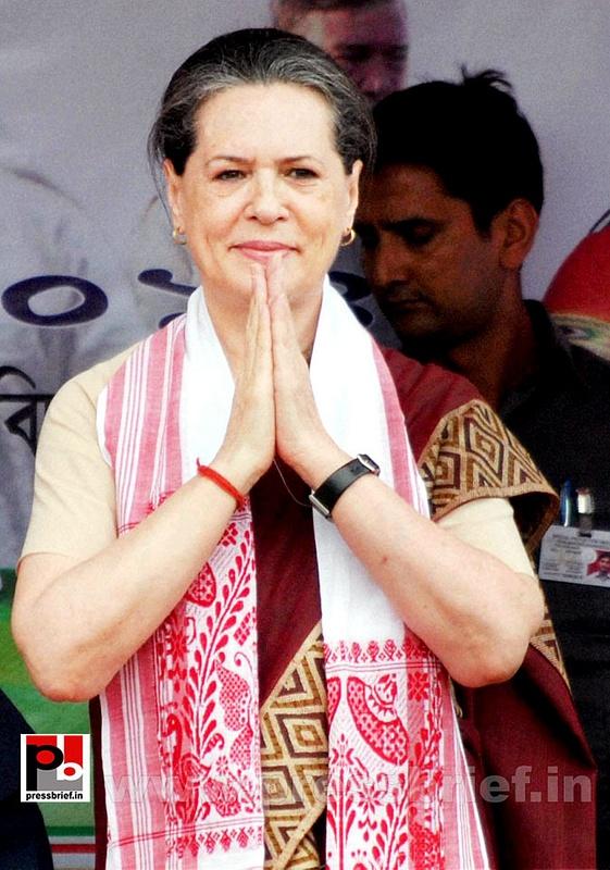 Sonia Gandhi campaigns in Assam (1)