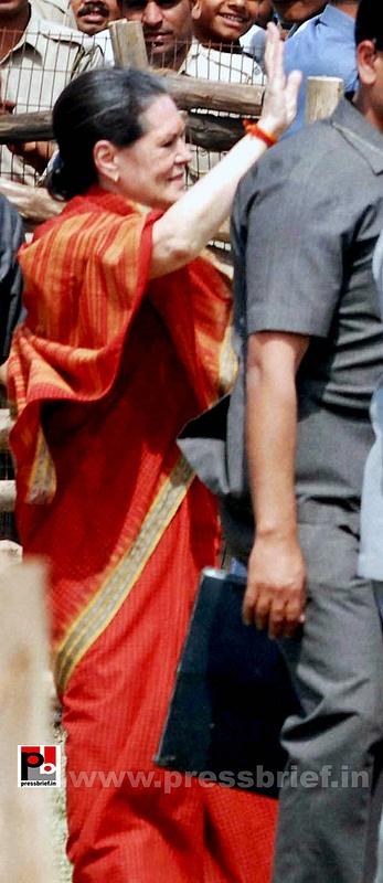 Sonia Gandhi at Mewat, Haryana (4)