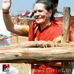 Sonia Gandhi at Mewat, Haryana