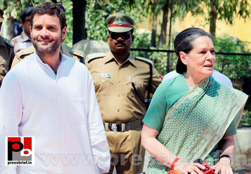 Sonia Gandhi files nomination from Raebareli (8)