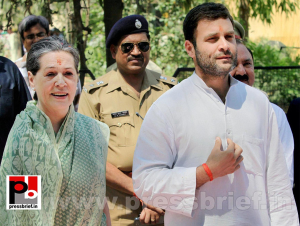 Sonia Gandhi files nomination from Raebareli (12) by...
