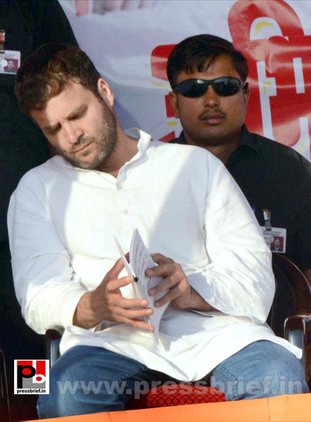 Rahul Gandhi at Aurangabad in Bihar (5) by Pressbrief In