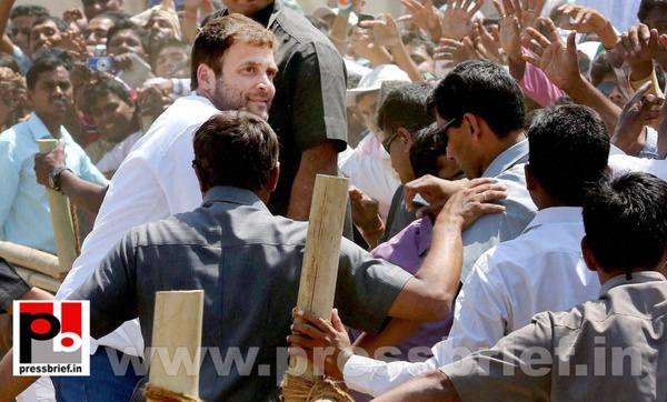 Rahul Gandhi at Aurangabad in Bihar by Pressbrief In