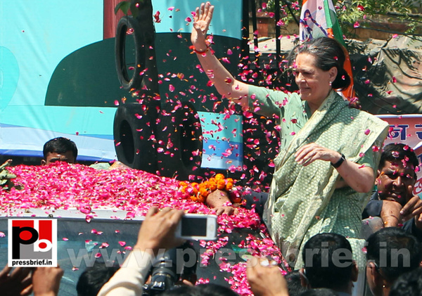 Sonia Gandhi files nomination from Raebareli by...