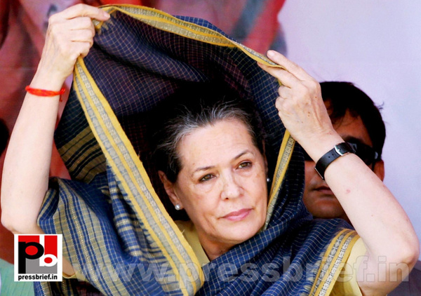 Sonia Gandhi at Ramgarh, Jharkhand (5) by Pressbrief In