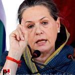 Sonia Gandhi at Ramgarh, Jharkhand