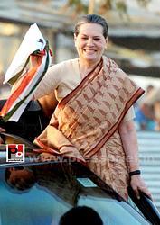 Sonia Gandhi at Nagpur