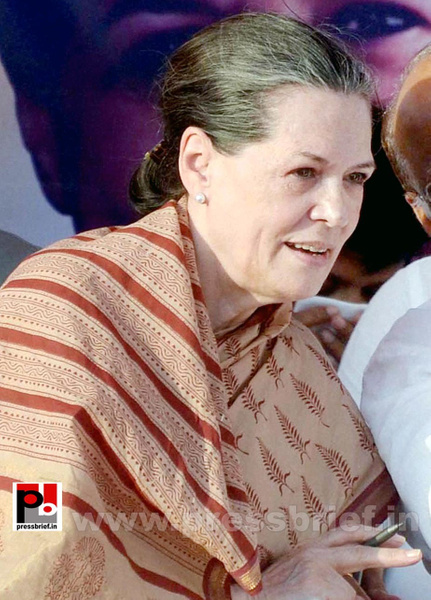 Sonia Gandhi at Nagpur (3) by Pressbrief In