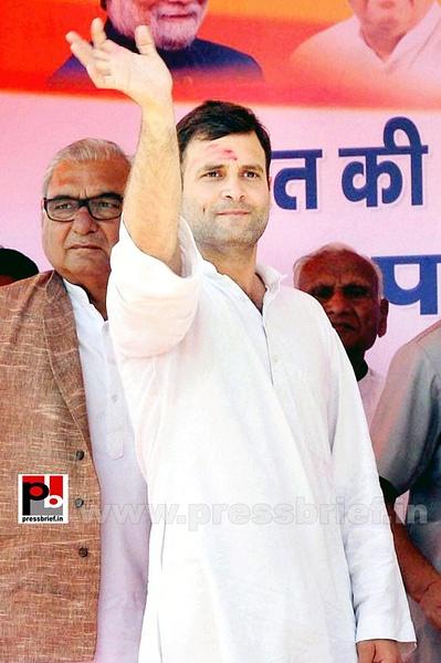 Rahul Gandhi at Panipat (1) by Pressbrief In