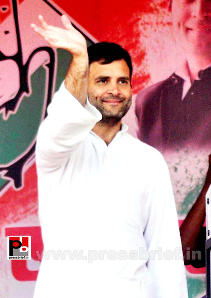 Rahul Gandhi at Silchar (2) by Pressbrief In