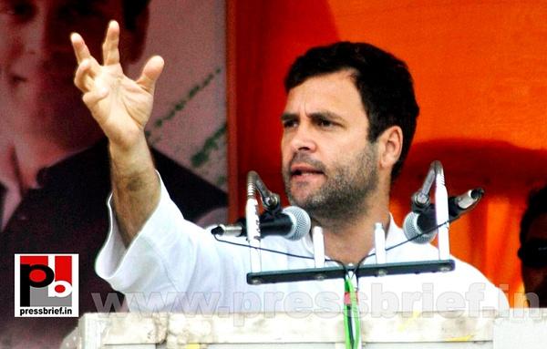Rahul Gandhi at Silchar (3) by Pressbrief In
