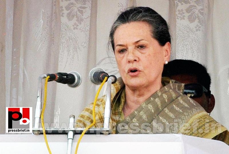Sonia Gandhi at Kolar, Karnataka (3)
